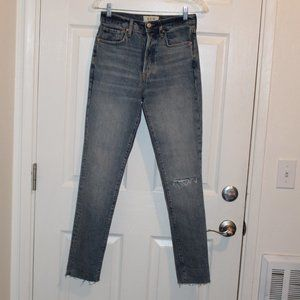 Free People Mom Jeans High Rise Women 26
